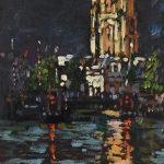 Leeuwarden olieverf (18x20)