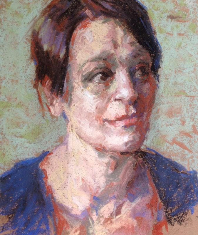 Portret: Pastel